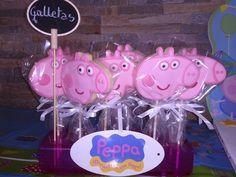 Peppa Pig birthday party | Tarta de manzana