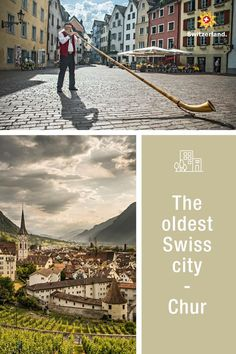 Let yourself be enchanted in the oldest city of Switzerland Chur Switzerland, Switzerland Tourism, Mediterranean Style, Old City, Old Town, Old Things, Urban, Architecture, Boutiques