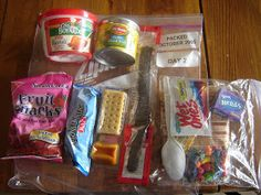 Prepared LDS Family: 72 Hour Kits: Food Packages Source by Emergency Preparedness Food Storage, Emergency Preparation, Emergency Supplies, Disaster Preparedness, Survival Prepping, Emergency Kits, Prepper Food, Survival Gear, Doomsday Prepping