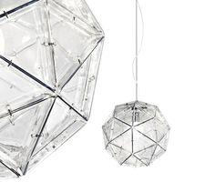 Lampada a sospensione in policarbonato POLIEDRO - Martinelli Luce: Lampada a sospensione in policarbonato design