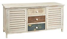 Kommode Vintage Schrank Shabby Sideboard Flurschrank Flurbank 90 Cm Neu