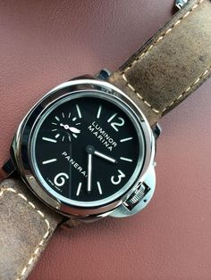 Panerai Luminor Wrist Watch for Men for sale online Panerai 111, Panerai Watches, Panerai Luminor, Omega Watch, Watches For Men, Mens Fashion, Free Shipping, My Style, Accessories