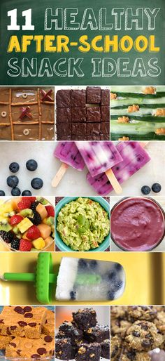 After-school snacks so good, kids won't know they're healthier - Students of all ages will loves these healthy school snack ideas. They are perfect for the classroom. They are easy to make and they can eat them on-the-go. School Snacks For Kids, Healthy School Snacks, Easy Snacks, Healthy Kids, Gourmet Recipes, Snack Recipes, Healthy Recipes, Healthy Fruits, Clean Eating Snacks