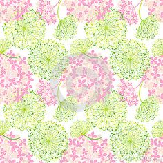 Springtime Colorful Flower Seamless Pattern - Download From Over 24 Million High Quality Stock Photos, Images, Vectors. Sign up for FREE today. Image: 30296057