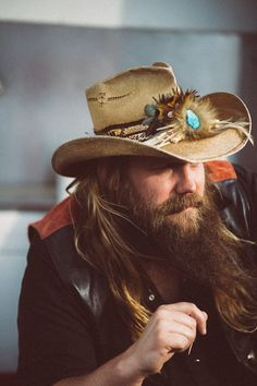 photos by Becky Fluke This article appears in our September/October 2015 issue. It's a weeknight in January 2015 and Chris Stapleton is making his way acro