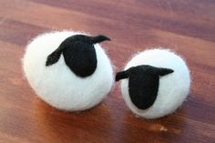 schapen van wol - lijf nat gevilt om een steen, kop droog gevilt