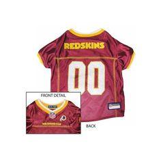 Pets First Washington Redskins NFL Dog Jersey - Extra Small