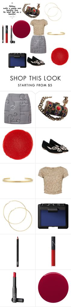 """""""Boldness is beauty!"""" by alisafranklin on Polyvore featuring Victoria, Victoria Beckham, Christian Louboutin, Sophia Webster, Jennifer Fisher, Alice + Olivia, NARS Cosmetics and Smith & Cult"""