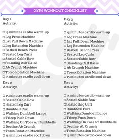 Beginner Gym Workout For Women + Free Printable Beginner Gym Workout For Women + Free Printable,But first, GYM! Beginner Gym Workout For Women Printable body goals motivation transformation workouts loss transformation Beginners Gym Workout Plan, Gym Routine For Beginners, Workout Plan Gym, Gym Routine Women, Planet Fitness Workout Plan, Gym Workout Plan For Women, Work Out Routines Gym, Gym Workouts Women, Health Fitness