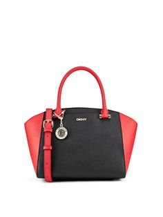 DKNY Bryant Park Saffiano Small Flap Cross Body Bag Red ($190 ...