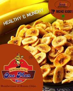 Get the superior quality banana wafers from One Man Show. The unique flavor and high nutrition value is the thing that attracts our clients from across the international market. Website: http://onemanshow.co.in/ #chips #bananachips #Hungry #Bestchips #Tastychips #appetizer #snack #party #munching #bestfood #tastyfood #teatimesnack