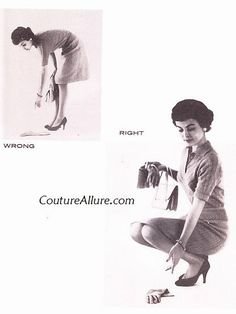 Couture Allure Vintage Fashion: Friday Charm School - How to Enter and Leave a Room Like a Lady