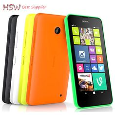 >> Click to Buy << 100% Original unlocked Nokia Lumia 630 Unlocked Cell phones quad core 5MP camera 4.5 Inch Windows OS dual sim card Free Shipping #Affiliate