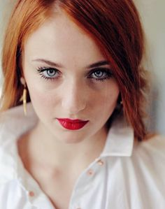 I think Sophie Turner would be PERFECT for Gemma - the pale eyes, red hair, fierce expression - plus we know she is an amazing actress