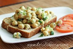 Curried Chickpea Salad.....