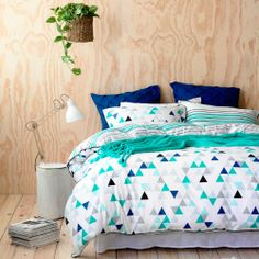 Home Republic Alpine - Bedroom Quilt Covers Coverlets - Adairs Online My New Room, My Room, Girl Room, Dream Bedroom, Home Bedroom, Bedroom Decor, Bedroom Ideas, Bedroom Inspiration, Home Republic