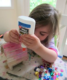 easy bird house craft for young kids
