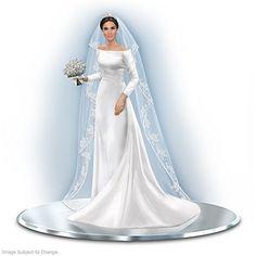 Duchess of Sussex wedding dress illustration