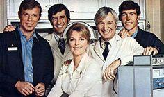 Emergency! (1972–1979)  Cast and history: http://www.imdb.com/title/tt0068067/?ref_=fn_al_tt_4  Theme music: http://youtu.be/lpFslQ0pBTo?t=1m44s