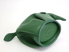 Loewe Coin Purse Elephant Leather Green(BF065114)