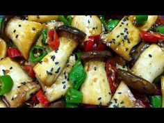Asian Recipes, Healthy Recipes, Korean Food, Diet, Chicken, Vegetables, Cooking, Kitchen, Kitchens