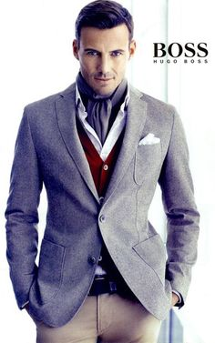 Hugo Boss - always classic and so much style. I've considered buying a tux and tailoring it for myself.