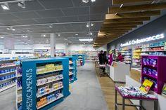 Gde Pharmacie de Livron – 26 Pharmacy Design, Le Shop, Circulation, Architecture Design, Ainsi, Counter, Commercial, Ideas, Pharmacy