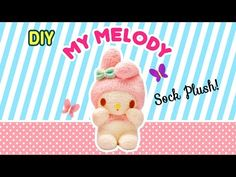 DIY My Melody Sock Plush | A Collaboration with Minty Mina D - https://www.youtube.com/watch?v=h2gX3pitHFQ