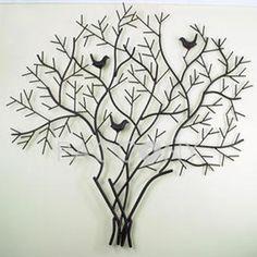 Metal Wall Art Metal Wall Decor Metal Tree Wall by honeywoodhome ...