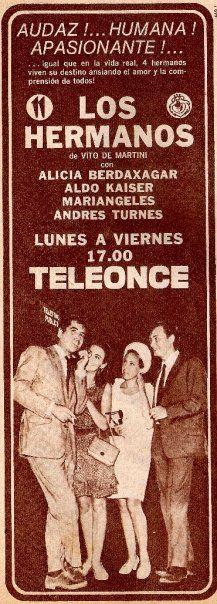 Publicidad de Canal 11, Buenos Aires, década del 60.