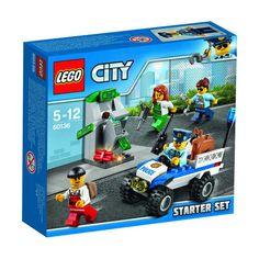 lego city police starter set instructions