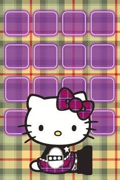Hello Kitty iPhone 4 icon skin