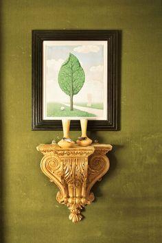 New yorker mantel grun