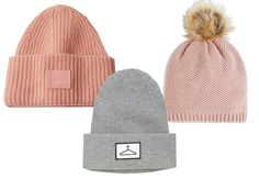 Trendy hats in a cold climate