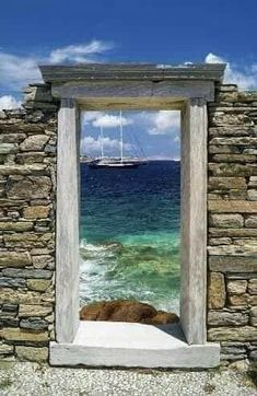 Oh The Places You'll Go, Places To Travel, Delos Greece, Zakynthos Greece, Mykonos Greece, Mykonos Island, Beautiful World, Beautiful Places, Underwater Ruins