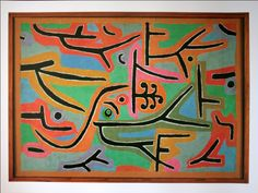 """Otoño en Luzerna.   """"Parque cerca de Lu"""". Paul Klee."""