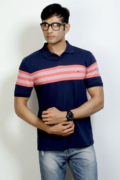 Fashion Polo with Cut & Sew Fabric to Rock your Weekend