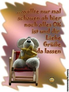 Pin by ingrid on cards, quotes in german German, Teddy Bear, Funny, Cards, Animals, Facebook, Hilarious Pictures, Photos, Good Night