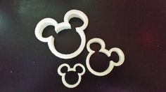 3-D Printed Mickey Mouse Cookie Cutter by Tekwize on Etsy