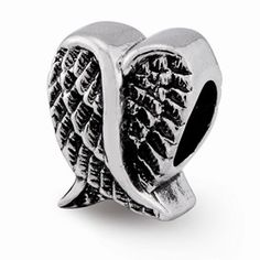 10mm x 10mm Solid 925 Sterling Silver Reflections My Mother My Friend Trilogy Bead