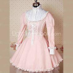 Long Sleeves Princess Lolita Dress with Big Bow