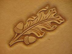 Demo: Oak Leaves - Figure Carving - Leatherworker.net