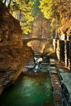 Gorgeous. Watkins Glen State Park, New York | New York state