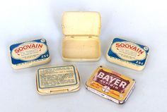 These old pill tins make me want to start collecting them all!