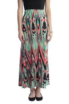 Tribal Maxi Skirt