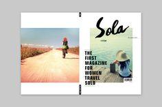 Magazine Layout Design by Bella , via Behance