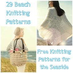 29 Beach Knitting Patterns: Free Knitting Patterns for the Seaside