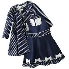 Image result for 1970 childs dress and coat