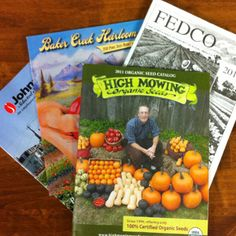 It's Seed Catalog Time Snow on the ground, but spring in the mailbox  Organic Seed catalog list. Order now!