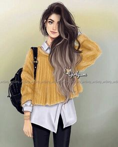 Uploaded by Find images and videos about girly and girly_m on We Heart It - the app to get lost in what you love. Girly M Instagram, Cute Girls, Cool Girl, Princesse Disney Swag, Chica Cool, Cute Girl Drawing, Girly Drawings, Cute Girl Wallpaper, Girl M
